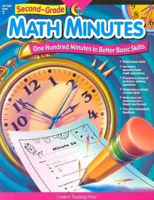 2nd-Grade Math Minutes 9781574718133