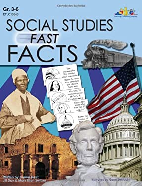 Social Studies Fast Facts: U.S. Geography (Natural & Manmade), U.S. States... 9781573105408