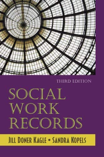 Social Work Records - 3rd Edition