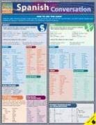 Spanish Conversation Laminate Reference Chart 9781572228474