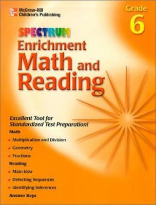 Spectrum Enrichment Math and Reading: Grade 6 9781577685067