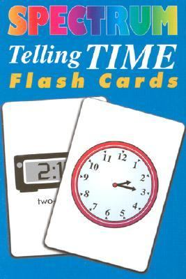 Spectrum Telling Time Flashcards 9781577681380