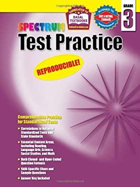 Test Practice, Grade 3 9781577687238