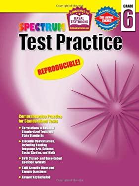 Spectrum Test Practice Grade 6 9781577689768
