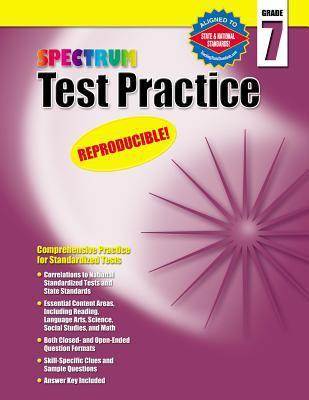 Spectrum Test Practice Grade 7 9781577689775