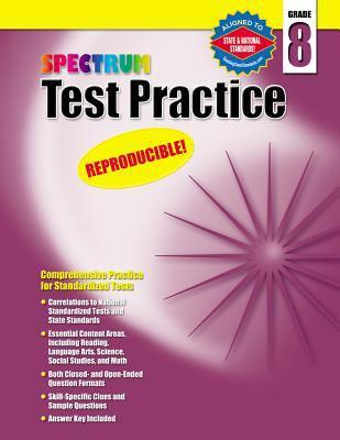 Test Practice, Grade 8 9781577689782