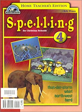 Spelling 4 for Christian Schools 9781579243944
