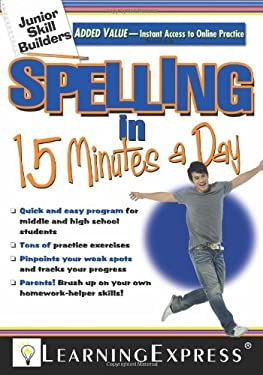 Spelling in 15 Minutes a Day [With Access Code] 9781576856901
