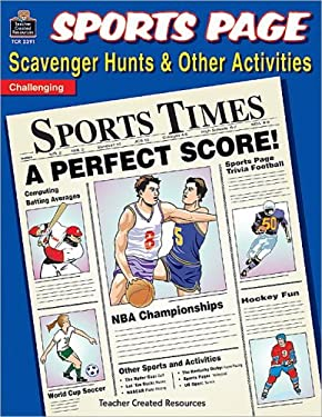 Sports Page Scavenger Hunts 9781576903919