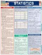 Statistics Laminate Reference Chart: Parameters, Variables, Intervals, Proportions