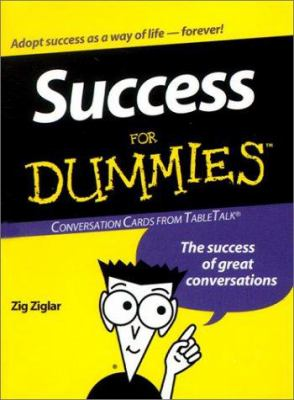 Success for Dummies: Conversation Cards from TableTalk: The Success of Great Conversations 9781572813885