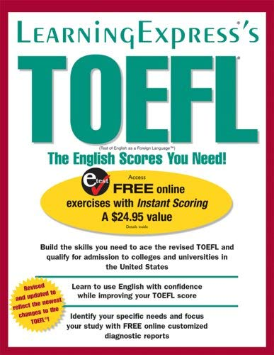 TOEFL: The English Scores You Need! 9781576855669
