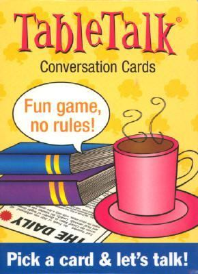 TableTalk Conversation Cards 9781572813786