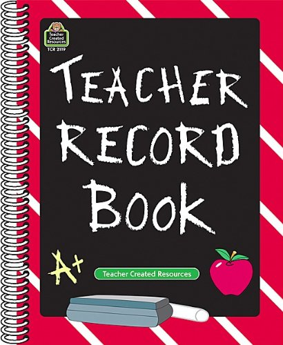 Teacher Record Book 9781576901199