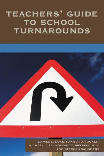 Teachers' Guide to School Turnarounds 9781578866687