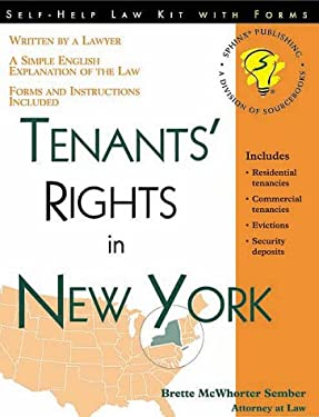 Tenants' Rights in New York 9781572481220