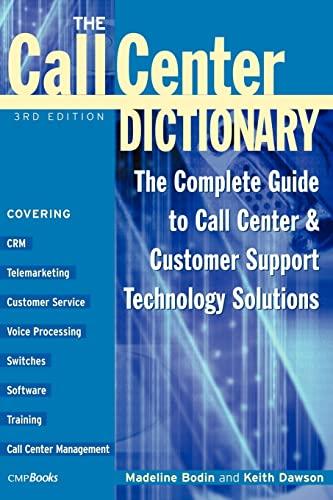 Call Center Dictionary 9781578200955