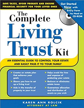 The Complete Living Trust Kit [With CDROM] 9781572485891