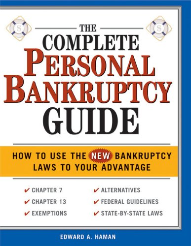 The Complete Personal Bankruptcy 9781572485457
