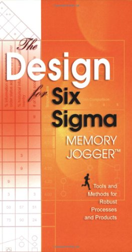 The Design for Six SIGMA Memory Jogger 9781576810477