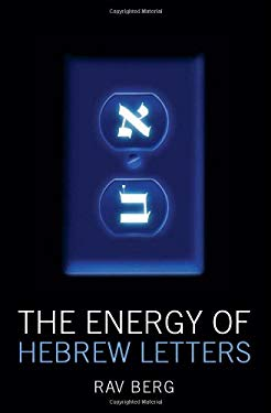 The Energy of Hebrew Letters