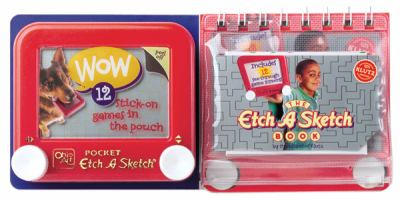 The Etch a Sketch Book [With Pocket Etch a Sketch and 12 Stick-On See-Through Game Screens] 9781570540509
