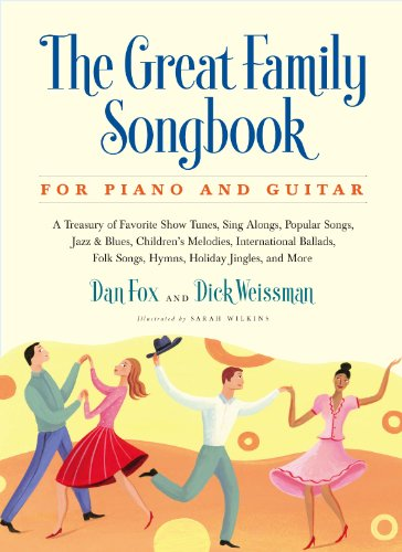 The Great Family Songbook for Piano and Guitar 9781579128609