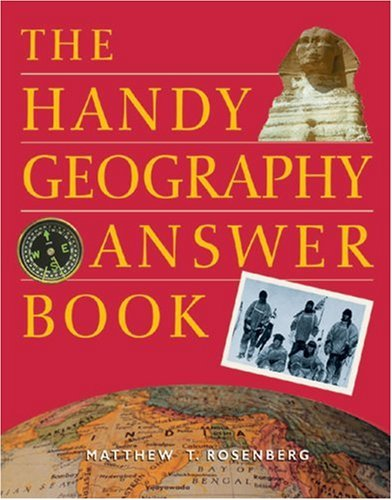 The Handy Geography Answer Book 9781578590629