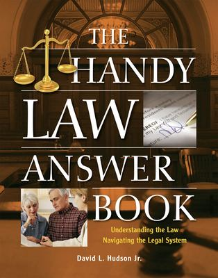The Handy Law Answer Book 9781578592173