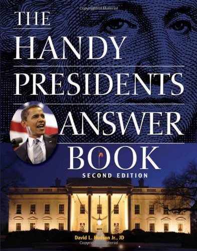 The Handy Presidents Answer Book 9781578593170