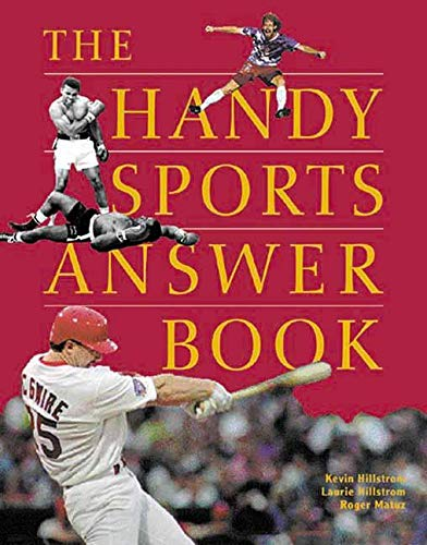 The Handy Sports Answer Book 9781578590759