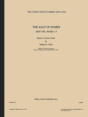 The Iliad of Homer, Part One: Books 1-6 9781579705350