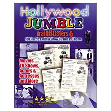 Hollywood Jumble Brainbusters: 170 Puzzles with a Show Business Theme 9781572435940