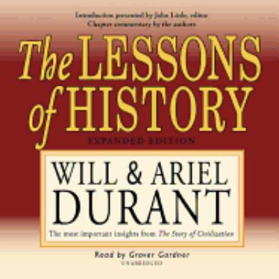 The Lessons of History: The Most Important Insights from the Story of Civilization 9781572703964