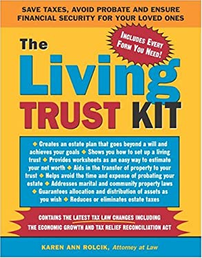 The Living Trust Kit 9781572484498