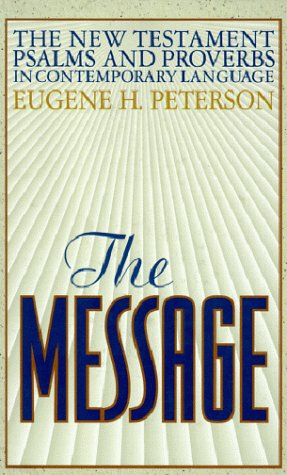 The Message New Testament with Psalms and Proverbs-MS 9781576831205