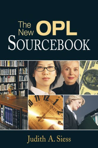 The New OPL Sourcebook: A Guider for Solo and Small Libraries 9781573872416