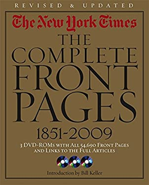 The New York Times: The Complete Front Pages 1851-2009 Updated Edition
