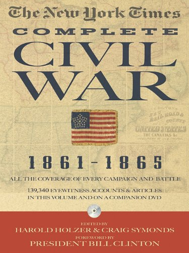 The New York Times the Complete Civil War 1861-1865 [With DVD ROM] 9781579128456