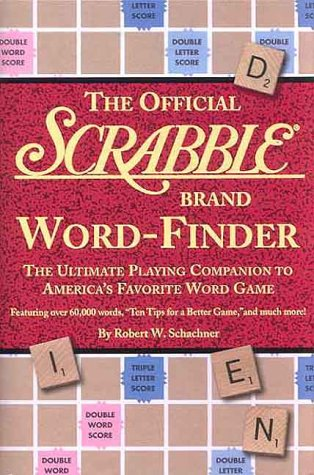The Official Scrabble Word Finder: The Ultimate Playing Companion to America's Favorite Word Game 9781579121044