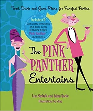 The Pink Panther Entertains: Food, Drink and Games Plans for Purrfect Parties [With CDROM] 9781572840805