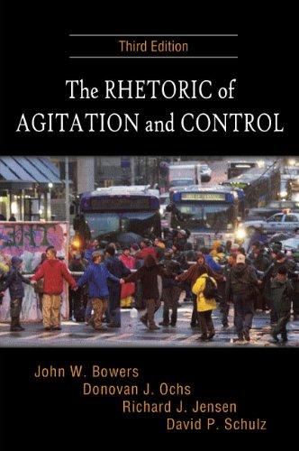 The Rhetoric of Agitation and Control 9781577666141