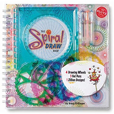 The Spiral Draw Book [With Display, Drawing Wheels, Frame, 3 Mini Gel Pens] 9781570549601