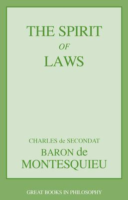 The Spirit of Laws 9781573929493