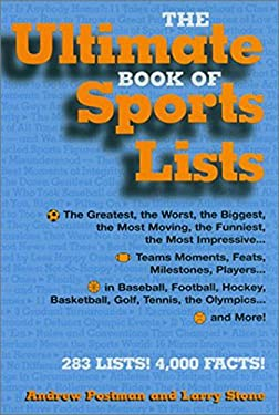 The Ultimate Book of Sports Lists 9781579122775