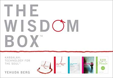The Wisdom Box: Kabbalah: Technology for the Soul [With 4 Small Format Books and Authentic Red String] 9781571895462