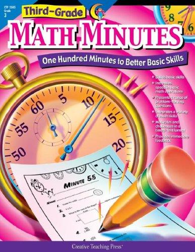 3rd-Grade Math Minutes 9781574718140