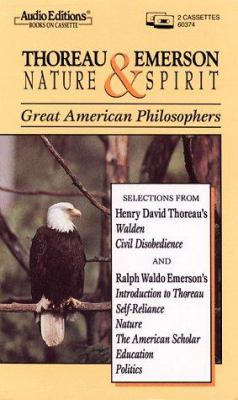 Thoreau and Emerson: Nature and Spirit 9781572700420