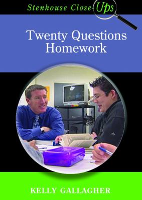 Twenty Questions Homework 9781571104380