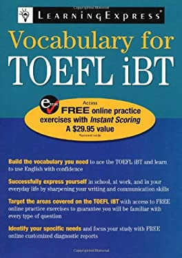 Vocabulary for TOEFL iBT 9781576856321